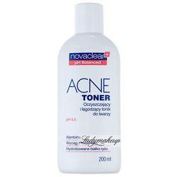 NovaClear - ACNE TONER - Oczyszczający i łagodzący tonik do twarzy - cera tłusta, trądzikowa