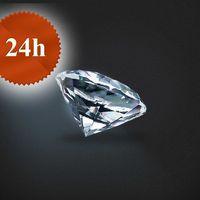 Diament 0,54 ct / G / VS2