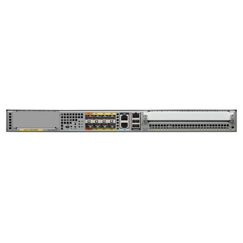 ASR1001-X Router Cisco ASR1001-X Chassis, 6 built-in GE, Dual P/S, 8GB DRAM
