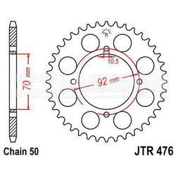 Zębatka tylna stalowa JT 476-45, 45Z, rozmiar 530 2300189 Kawasaki Z 400