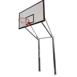 Stojak do koszykówki dwusłupowy, wysięg 225 cm