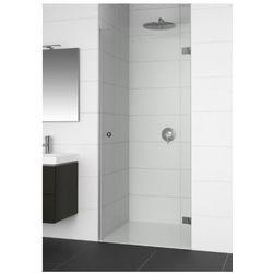 RIHO ARTIC A101 Drzwi prysznicowe 80x200 LEWE, szkło transparentne EasyClean GA0800201