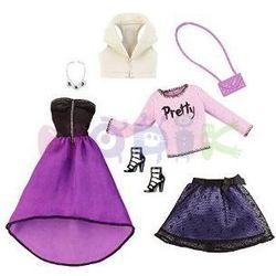 Barbie dwupak ubranek Mattel (koncertowe)