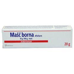 Maść borna Aflofarm maść - 20 g (tuba)