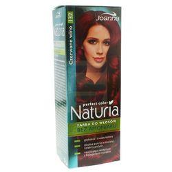 Joanna Naturia Perfect Color Farba do włosów bez amoniaku Czerwone Wino nr 132