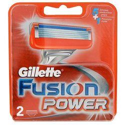 GILLETTE 2szt Fusion Power Wkłady do maszynki do golenia