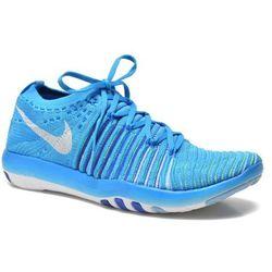 Buty sportowe Nike Wm Nike Free Transform Flyknit Damskie Niebieskie 100 dni na zwrot lub wymianę