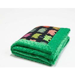 La millou Kocyk 65 x 75 Hipopotamy kelly green