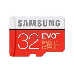 Karta pamięci Samsung Micro SD z adapterem EVO+ R80/W20 32GB - MB-MC32DA/EU