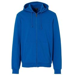 Bluza rozpinana z kapturem Regular Fit bonprix lazurowy niebieski