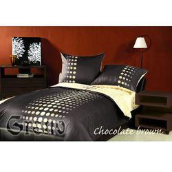 Pościel satynowa Greno Chocolate Brown 100% bawełny