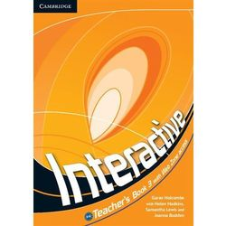 Interactive 3. Książka Nauczyciela