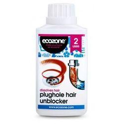 Płyn do udrażniania rur zatkanych włosami - 250ml - Ecozone