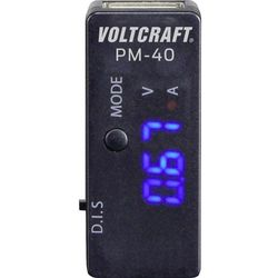 Multimetr cyfrowy VOLTCRAFT PM-40, CAT I