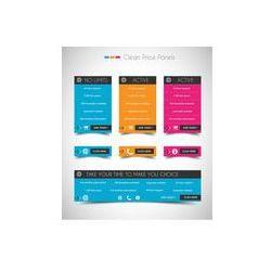 Foto naklejka samoprzylepna 100 x 100 cm - Sklep internetowy cena panel z miejscem na tekst i przycisk Kup teraz