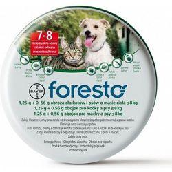 Bayer Foresto Obroża dla psów i kotów o masie ciała poniżej 8kg długość 38 cm.
