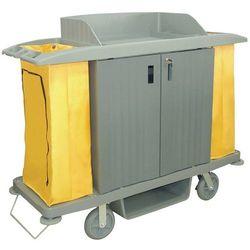 Wózek do sprzątania z drzwiczkami   1540x540x(H)1285mm