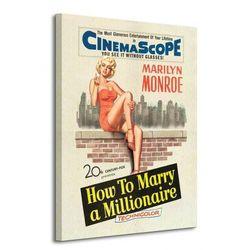 Marilyn Monroe (Millionaire) - Obraz na płótnie