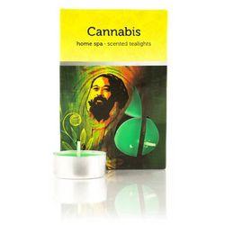 Świeczki zapachowe Cannabis