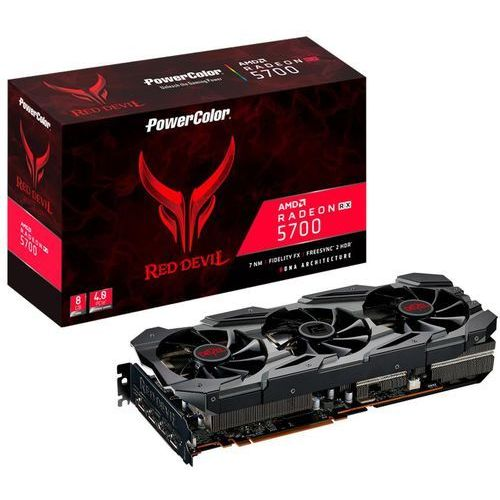 Karta graficzna POWERCOLOR Radeon RX 5700 XT Red Devil 8GB