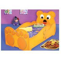 Łóżko z materacem - Miś, Plastiko