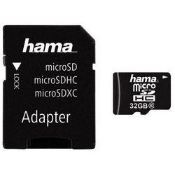 KARTA PAMIĘCI HAMA MICRO SDHC 32GB C10 + ADAPTER SD