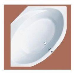 Wanna narożna Ruben Sigma symetryczna 150 x 150 cm, biała, system hydromasażu Neos Sigma + Neos