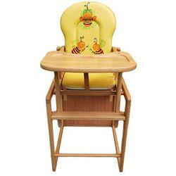Krzesełko do karmienia + szelki