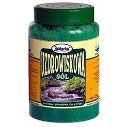 Zabłocka sól uzdrowiskowa 1,2kg ZabłockieSpa - do kąpiel
