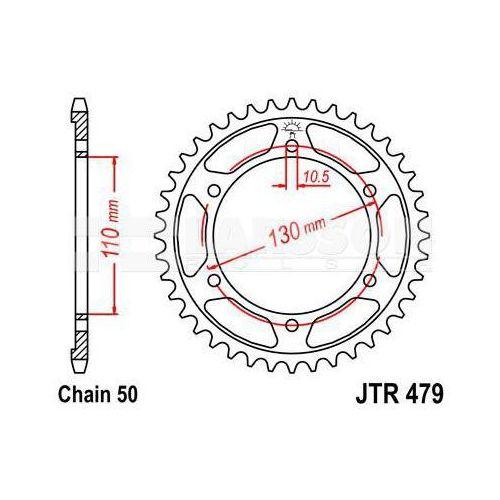 Zbatka Tylna Aluminiowa Jt A479 45 45z Rozmiar 530 2303201 Yamaha