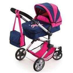 BAYER DESIGN Wielofunkcyjny wózek dla lalek Neo Pro, kolorniebiesko-różowy