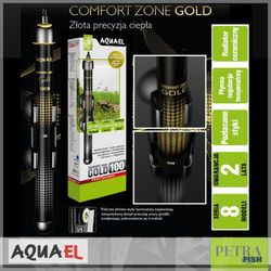 AQUAEL - COMFORT ZONE GOLD 250 W - Szklana grzałka z termostatem