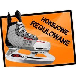 Łyżwy hokejowe regulowane Spartan