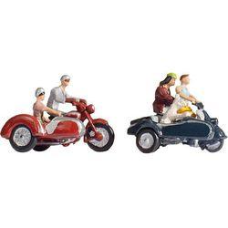Figurki motocyklistów w skali H0
