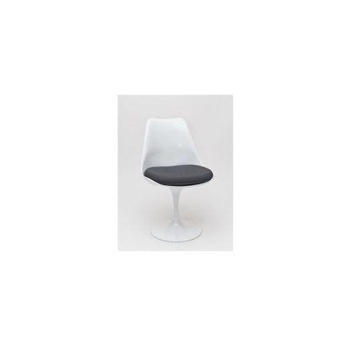 Krzesło Obrotowe Tulip Z Poduszką Biało Szare D2 Porównaj Zanim