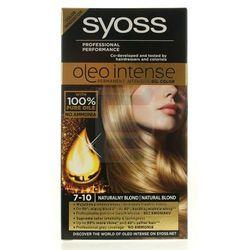Syoss Oleo Intense Farba do włosów 7-10 naturalny blond
