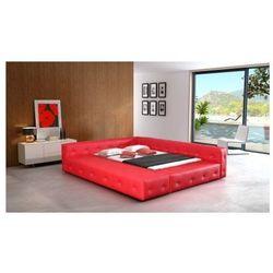 Łóżko tapicerowane BARON 160/200 guziki tapicerowane