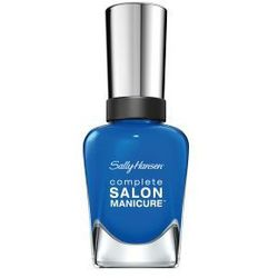 Sally Hansen Lakier Salon Complete New Sued Shoes Nr 684 Piękny matowy grafit