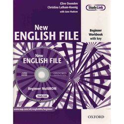 New English File Beginner - Workbook Pack With Key (opr. miękka)