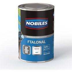 Emalia alkidowa Ftalonal Czarny półpołysk 0,25L Nobiles