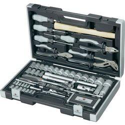 Zestaw narzędzi w walizce TOOLCRAFT, 109 szt.