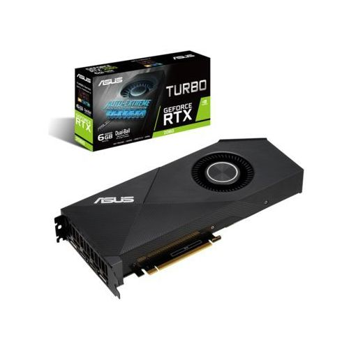 ASUS GeForce RTX 2060 Turbo - 6GB GDDR6 RAM - Karta graficzna