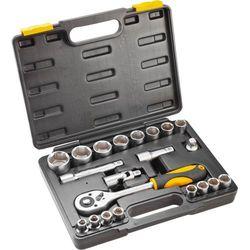 Zestaw kluczy nasadowych TOPEX 1/2 cala 38D642 (21 elementów) + DARMOWY TRANSPORT!