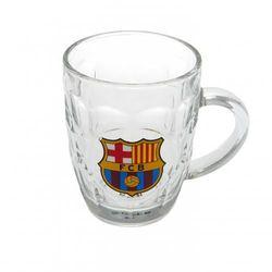 Kufel szklany FC BARCELONA