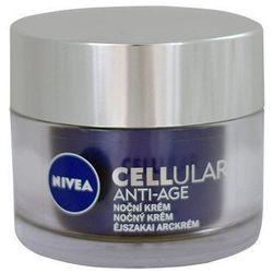 Nivea CELLular Anti-Age Night Cream 50ml W Krem do twarzy przeciwzmarszczkowy
