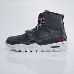 Sneakers buty zimowe Nike Air Trainer SC 2 Boot black / pure platinum - wolf grey (805891-001) - Black / Pure Platinum - Wolf Grey