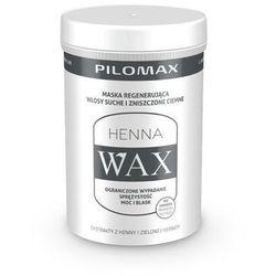 WAX HENNA Regenerująca maska do włosów ciemnych zniszczonych i suchych 480g