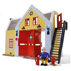 SIMBA Strażak Sam - Straż pożarna z figurką strażaka