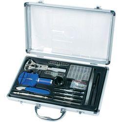 Zestaw narzędzi zegarmistrzowskich Bruder Mannesmann 11760, w aluminiowej walizce