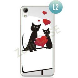 Obudowa Zolti Ultra Slim Case - HTC Desire 626 - Romantic- Wzór L2 - L2